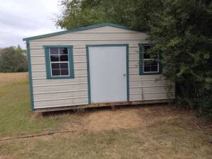 12' x 16'± Metal Stroage Building (must be moved)