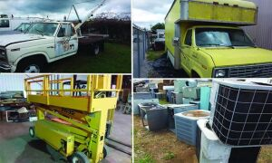 Trucks, A/C Surplus & Tools