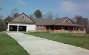 Unfinished Home In Cullman, AL