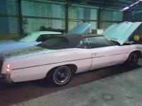 1971 Pontiac Catalina Convertible, white; Good car to be restored.  VIN 2L67R2P307147; BILL OF SALE ONLY