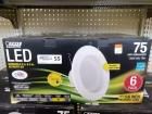 6 LED Dimmable 5 in-6 in Retrofit Kit (NIB)