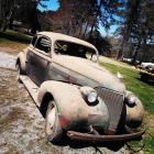 1939 Chevy Coupe; Nice automobile to restore.  BILL OF SALE ONLY