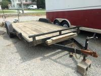 18' Utility Trailer; BILL OF SALE ONLY