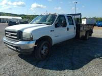 2003 Ford F-450 Super Duty; Power Stroke V8 Turbo Diesel; VIN# 1FDXW46P53EC54721; 132,590 miles