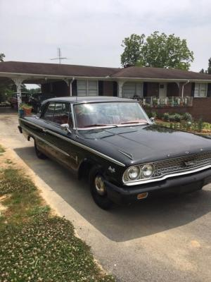 1963 Ford Galaxie 500 XL 2-Door Coupe; Original 390 Big Block; Cruis-o-matic Transmission; Original Paint; Seats have been reupholstered.; VIN# 3E67Z14957; BILL OF SALE ONLY