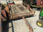 Utility Trailer; BILL OF SALE ONLY