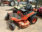 "60"" Kubota ZG327 Zero Turn Mower 1,370 hrs."
