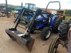 Long 4-Wheel Drive Tractor w/ Loader