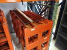 MECO, Model SSm1-4, 2500 lb capacity per section Heavy Duty Material Stands/Racks