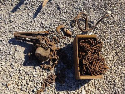 CHAIN BLOCK PULLER, CHAINS & CABLE CHOKER