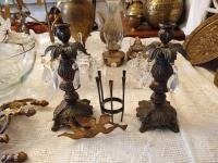 Metal Candlestick Holders