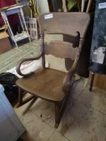 Child's Wood Rocking Chair