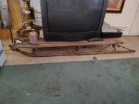 Vintage Snow Sled, approx. 4'