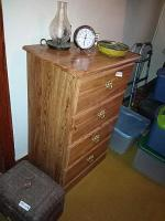Chest Of Drawers & Contents
