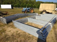 24' X23' X 8' METAL BUILDING FRAME