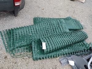 5 ROLLS OF SAFETY CONTRACTORS FENCING