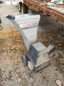CRAFTSMAN ELECTRIC CHIPPER/SHREDDER