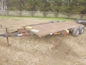 APPROX. 18' TRAILER; BOS ONLY