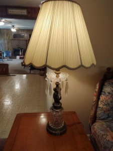 PAIR OF MATCHING TABLE LAMPS