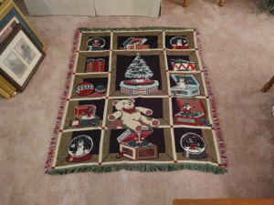 TAPESTRY THROW BLANKET