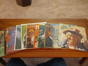 ASSORTMENT OF RECORD ALBUMS