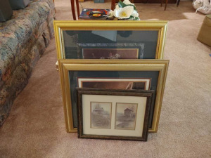ASSORTMENT OF FRAMED & MATTED PRINTS