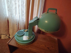 VINTAGE PORTABLE LADY SCHICK CONSOLETTE HAIR DRYER