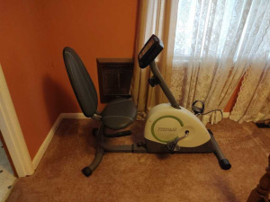 WESLO STATIONARY EXERCISE BICYCLE
