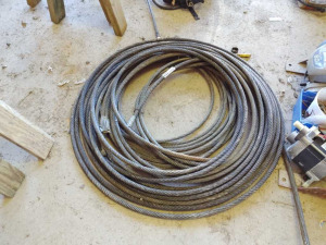 BUNDLE OF HEAVY DUTY CABLE