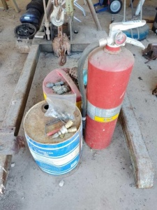 FIRE EXTINGUISHER, COOLER & MISCELLANEOUS