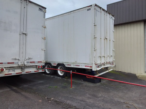 1991 48' Kentucky Trailer; VIN 1KKVE482XML089512