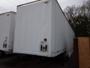 1986 48' Kentucky Trailer; VIN 1KKVE4824GL076940