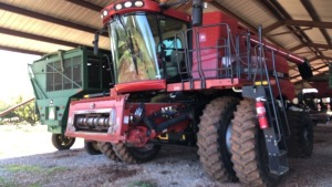 Case IH 8120 Axial-Flow Combine; S#876101913; engine has 3,554 hours; machine has 2,100 hours