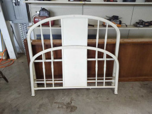 IRON FULL SIZE HEADBOARD & FOOTBOARD