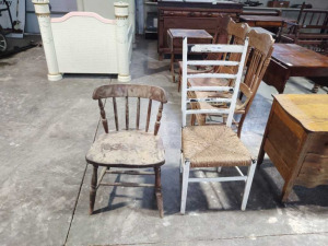 (2) Vintage Side Chairs