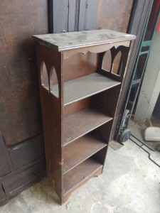 SMALL VINTAGE BOOK SHELF