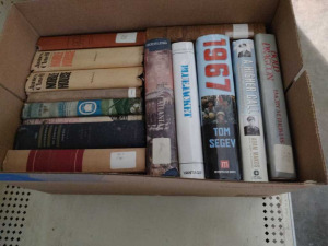 BOX OF BOOKS