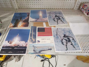 (3) Prints Of NASA's 1st Space Shuttle Launch