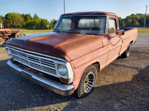 1970 FORD PICKUP TRUCK; BILL OF SALE ONLY