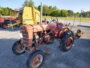 SUPER-A FARMALL TRACTOR WITH MOWER, CUTTER & CULTIVATOR