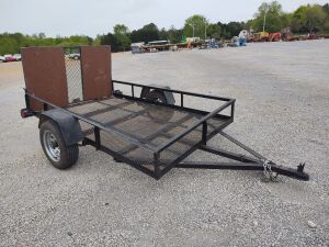 Approximately 5' x 8' Small Utility Trailer