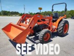 L3130D KUBOTA TRACTOR WITH LOADER;Serial # 38337; 32 HP
