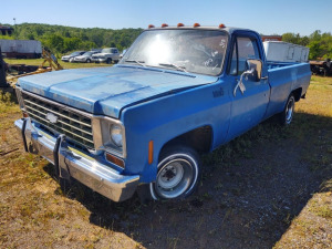 1976 CHEVROLET TRUCK, VIN# CCV146A107587, BOS ONLY ***HAULED IN