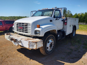 2002 GMC C7500 (DELAYED TITLE) VIN#1GDM7H1C52J500071