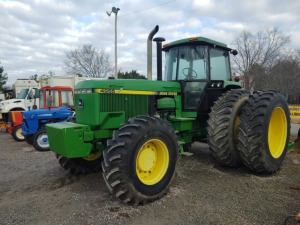 JOHN DEERE 4955 TRACTOR 4WD ***RUNS & DRIVES