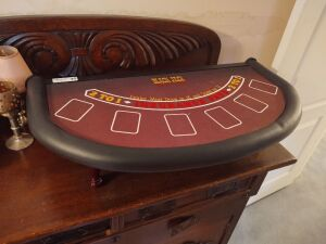 Table-Top Black Jack Table