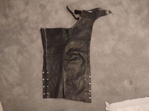 Real Leather Chaps (size XXS)