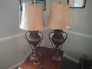 (2) Matching Table Lamps