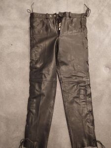Highway One Leather Pants (Size 34 waist)