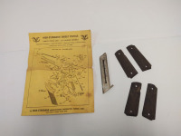 High-Standard Target Pistols Parts Price List - .22 Caliber Models, Pistol Grips (1 is wood & 1 is plastic) & Magazine